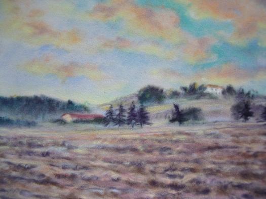 Paesaggio nei dintorni di Orciano